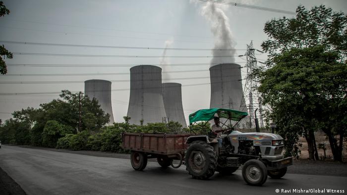 Coal-fired power plant in Chhattisgarh, India