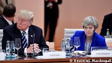 Deutschland G-20 Trump und May in Hamburg