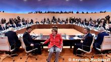 G20 Gipfel in Hamburg | Trump & Jinping & Merkel & Macri (Reuters/J. MacDougall)