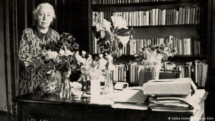 Käthe Kollwitz 1937 (Foto: Käthe Kollwitz Museum Köln)