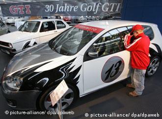 Выставка Golf GTI в Вольфсбурге