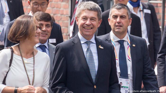 Deutschland G20 Gipfel Partnerprogramm (picture alliance/dpa/U. Perrey)