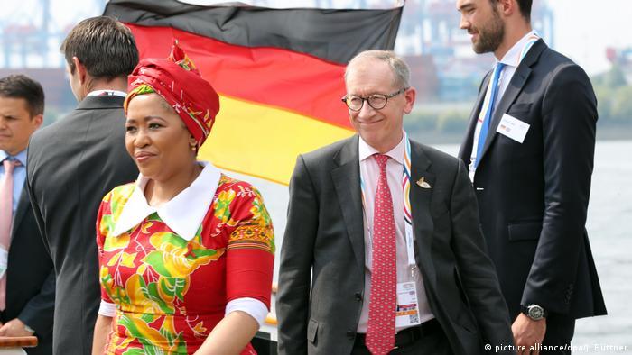 Deutschland G20 Gipfel Partnerprogramm (picture alliance/dpa/J. Büttner)