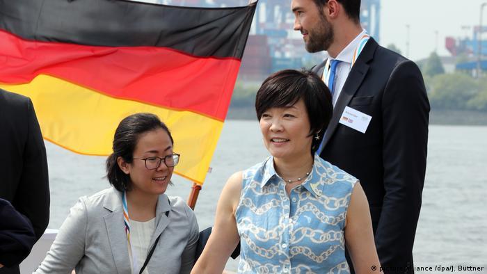 Deutschland G20 Gipfel Partnerprogramm (picture alliance /dpa/J. Büttner)