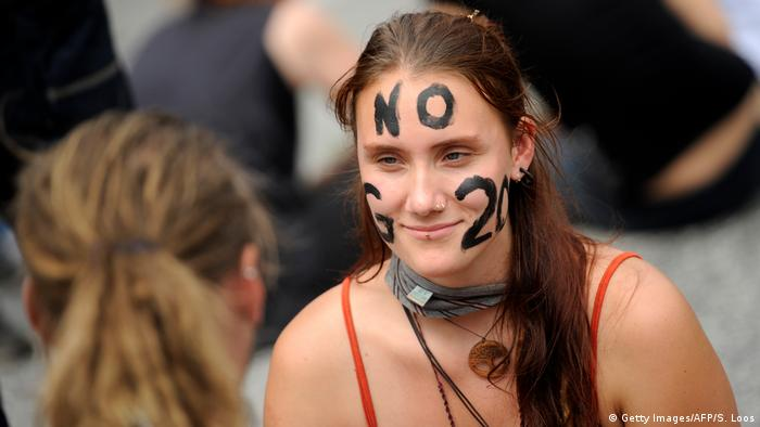 G20 Gipfel in Hamburg | Demonstration & Protest (Getty Images/AFP/S. Loos)