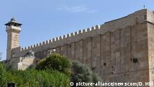 Hebron Altstadt Patriarchengräber / Ibrahim-Moschee bekannt