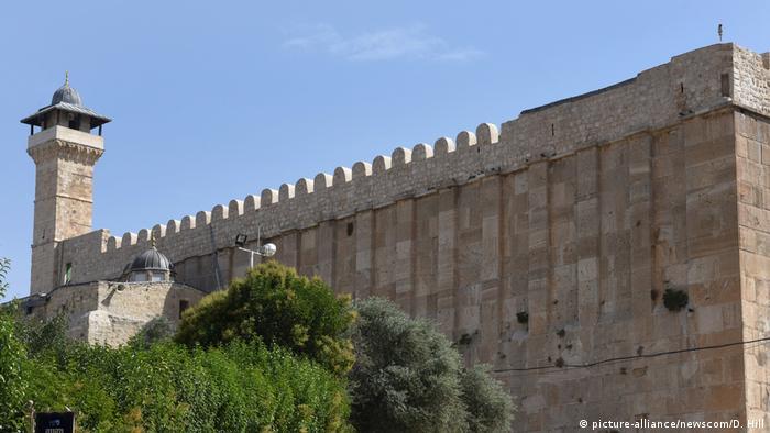 Hebron Altstadt Patriarchengräber / Ibrahim-Moschee bekannt (picture-alliance/newscom/D. Hill)