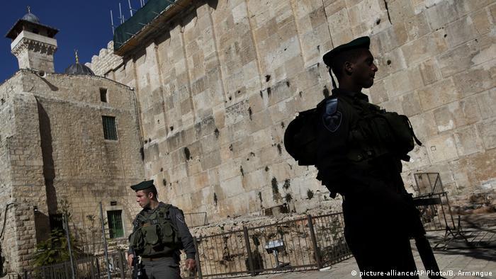 Hebron Altstadt Hebron Patriarchengräber / Ibrahim-Moschee
