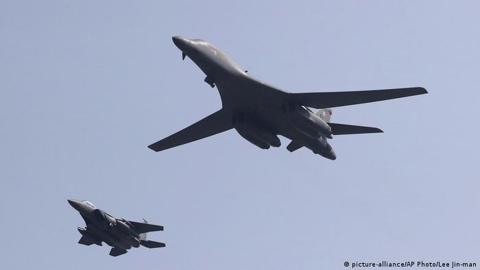 Südkorea US-Bomber B-1B