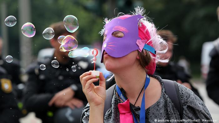 Мирні портести у Гамбурзі під час саміту G20