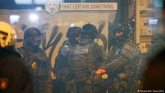Anti G20-Proteste in Hamburg (Reuters/H. Hanschke)