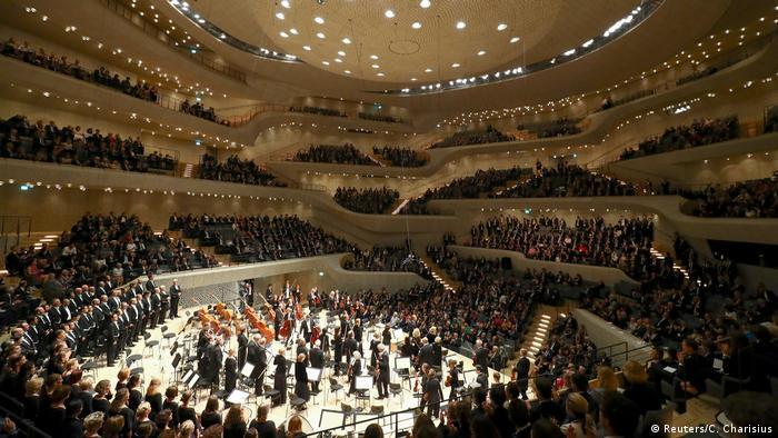 Концерт у Ельбській філармонії під час cаміту G20