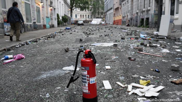 G20-Gipfel - nach den Ausschreitungen Hamburg