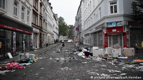 G20-Gipfel - nach den Ausschreitungen Hamburg (picture alliance/dpa/A.Heimken)
