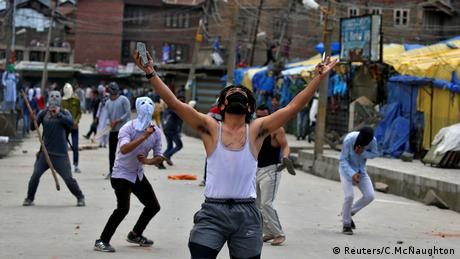 Kashmir Srinagar Proteste (Reuters/C.McNaughton)