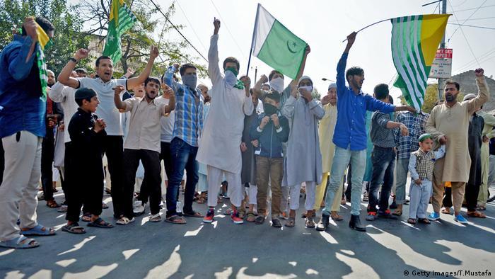 Kashmir Proteste (Getty Images/T.Mustafa)