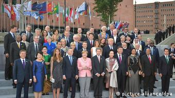 G20 Gruppenbild (picture alliance/dpa)