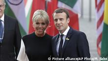 Deutschland G20 Gipfeltreffen Ehegatten