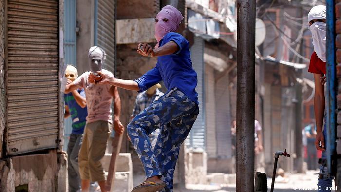 Indien Kashmir Protest (Reuters/D. Ismail)