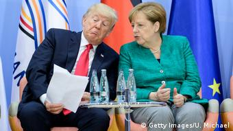 G20 Gipfel in Hamburg | Trump & Merkel (Getty Images/U. Michael)