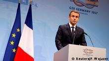 G20 Gipfel in Hamburg | Emmanuel Macron