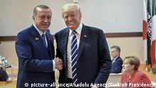 G20 Gipfel in Hamburg | Erdogan & Trump