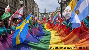 London Gay Pride 2017 (Getty Images/AFP/N. Halle'n)