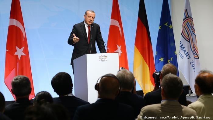 G20 Gipfel in Hamburg   Erdogan