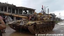 Syrien Daraa Syrische Truppen