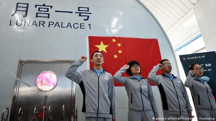 China Raumfahrtprojekt Lunar Palace 365 an der BUAA Universität in Beijing (picture-alliance/Photoshot/J. Huanzong)
