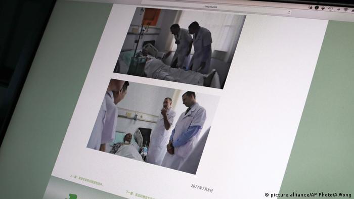 China Liu Xiaobo (picture alliance/AP Photo/A.Wong)