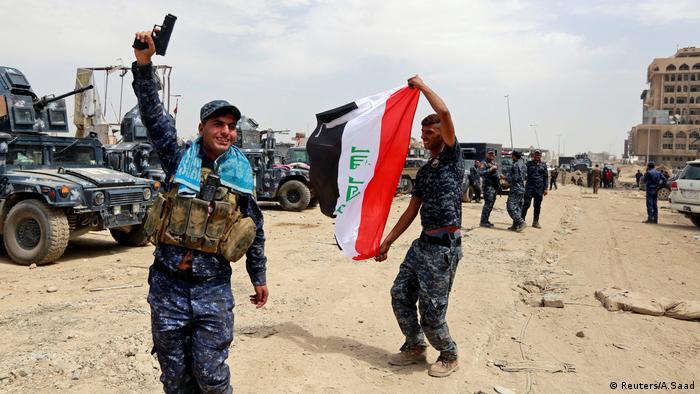Irak, Rückeroberung von Mossul vom IS (Reuters/A.Saad)