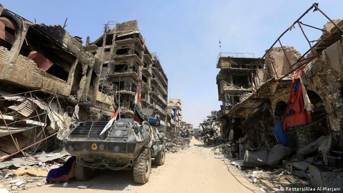 Irak, Rückeroberung von Mossul vom IS (Reuters/Alaa Al-Marjani)