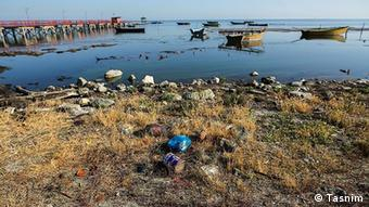 کمآبی و پسماندههای پلاستیکی و فلزی، بلای جان دریای خزر