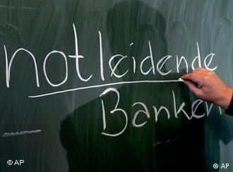 'Notleidende Banken': escolhida entre 1.129 sugestões