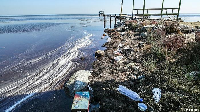 Iran Küstenverschmutzung (Tasnim)