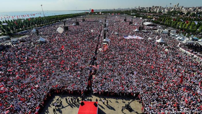 Акция протеста оппозиционной Народно-республиканской партии (НРП)