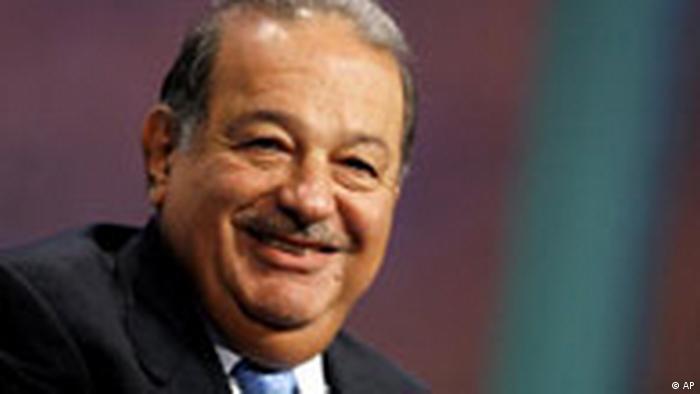 Der mexikanische Milliardär Carlos Slim (AP)
