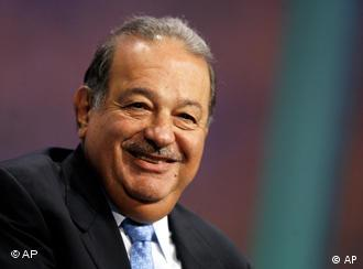 Carlos Slim lachend