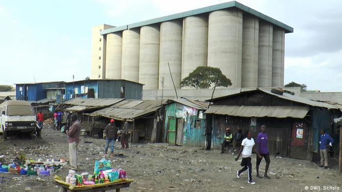 Kenia Nairobi Slum