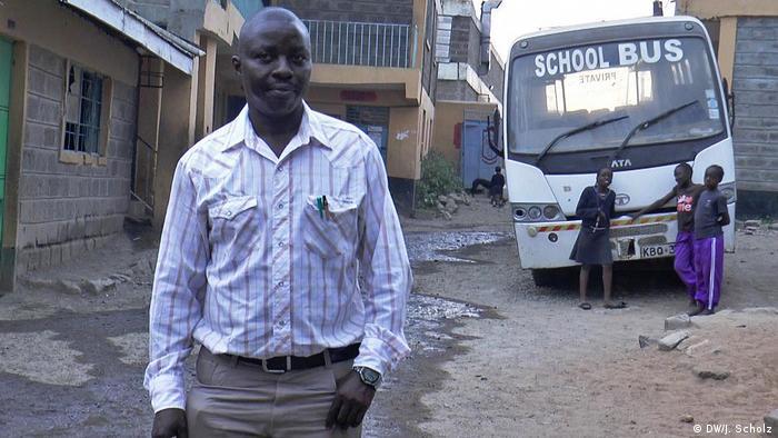 Kenia Nairobi Nehemiah Ndeta