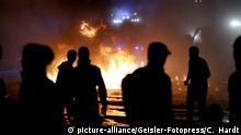 G20 Demonstration Extremisten Schwarzer Block