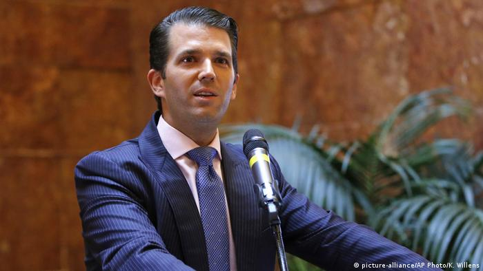 Donald Trump Jr. (picture-alliance/AP Photo/K. Willens)