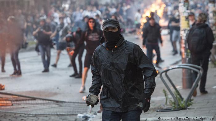 G20 Ausschreitungen Schwarzer Block