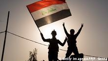 Irak Mossul Rückeroberung Soldaten Fahne