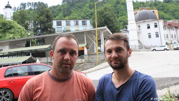 Zeitzeugen Massaker von Srebrenica (DW/Marinko Sekulic)