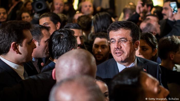Türkei Wirtschaftsminister Nihat Zeybekci
