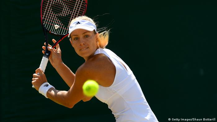 TENNIS WIMBLEDON Angelique Kerber gegen Garbine Muguruza (Getty Images/Shaun Botterill)