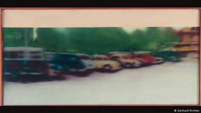 Gerhard Richter's Kleiner Parkplatz (1965) painting (Gerhard Richter)