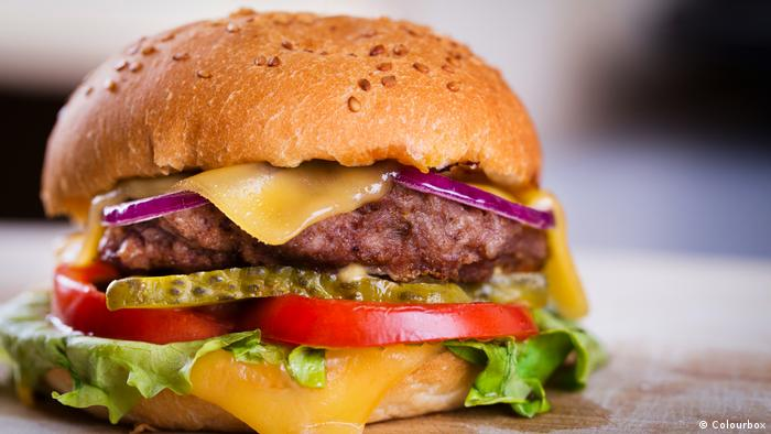 Hausgemachter Burger (Foto: Colourbox)